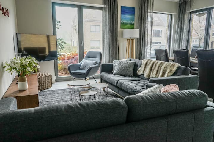 New ! Huis Barlandus - Cosy home - Free parking
