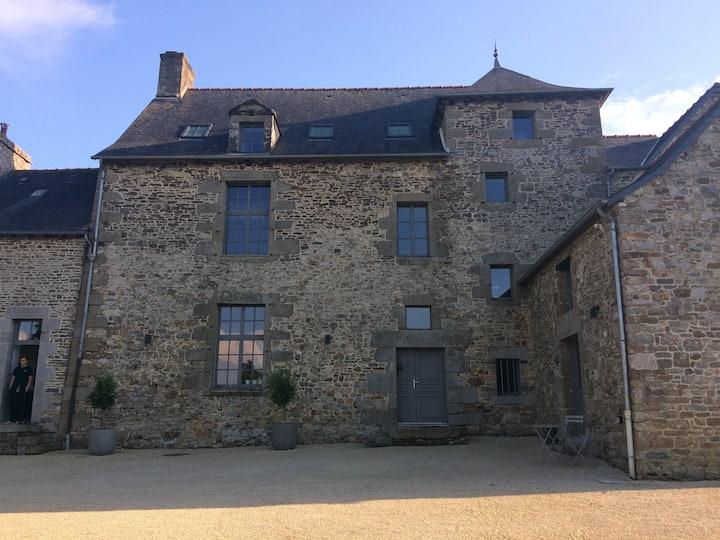 Chambre Privée Manoir Rennes/Fougères/Mt StMichel