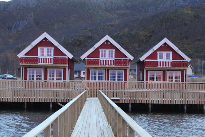 Sea cabins with Northen Lights view - Cabin 2