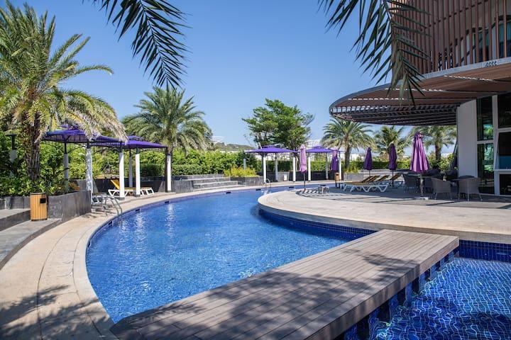 [Oceanami]2BR-Airy Space+Luxury Villa on 1st floor