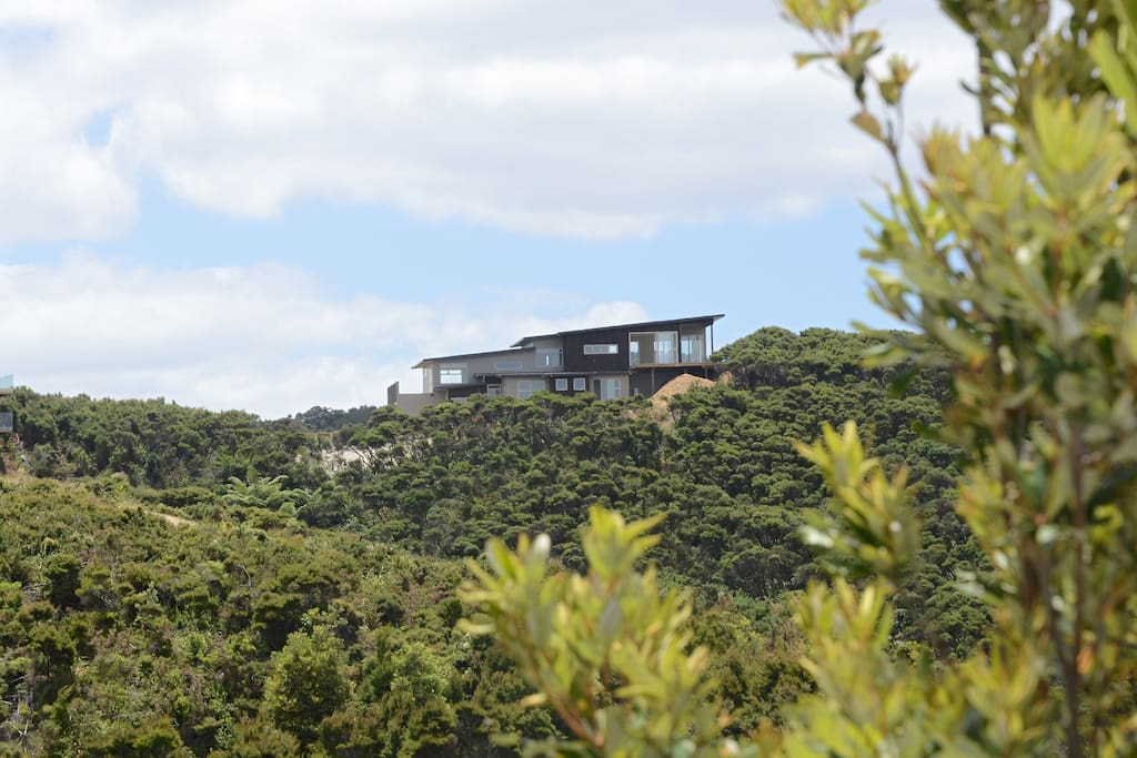 Perched on the top of the hill with 360 degree views.