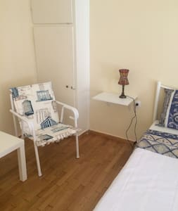 Blue sea room in the CityCenter. - Athina - Apartment