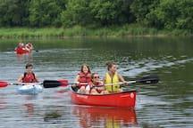 Canoe Liveries 2 miles away