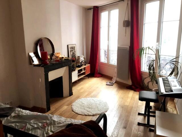 Charmant studio à 2 min de la place République