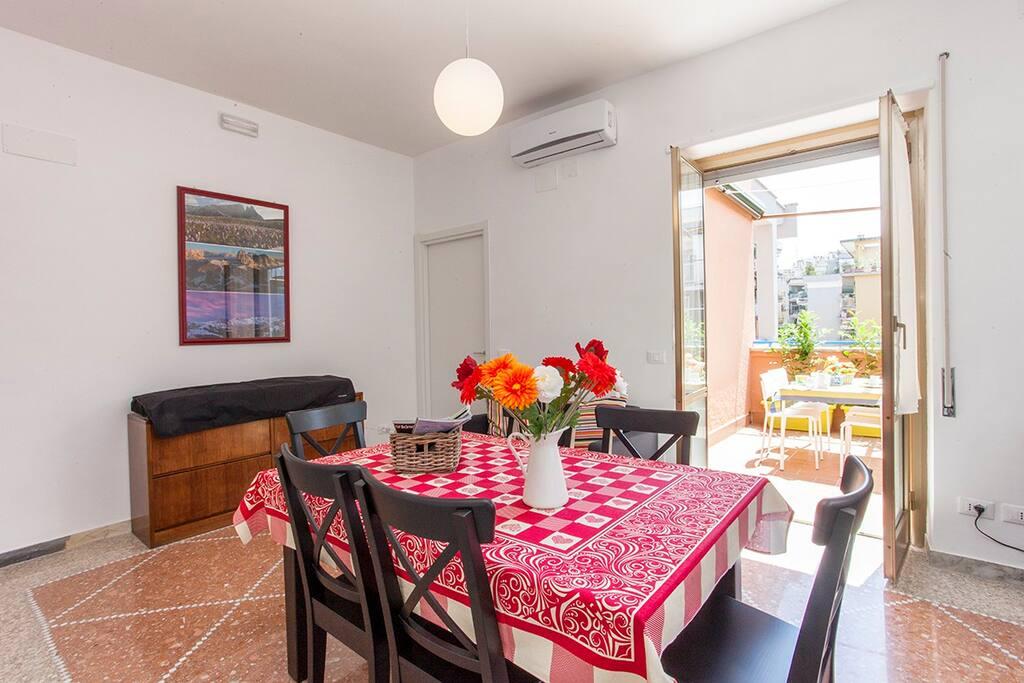 The livingroom - Il soggiorno