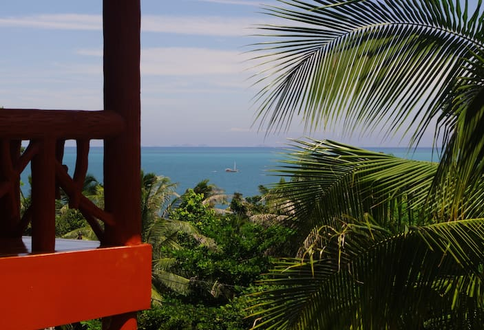 Le Balcon, Haad Yao, bungalow N°2 sea view