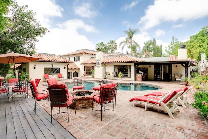 Spanish Villa pool home