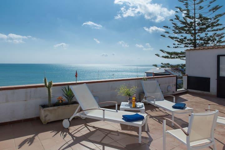 50 m vom Strand riesige Dachterrass - Lido di Noto - Apartment