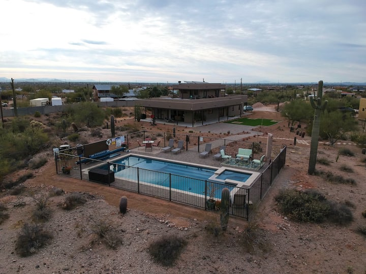 Welcome to Saguaro House your oasis in the desert!
