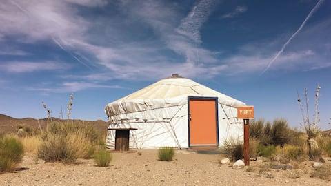 YURT1-Desert Retreat @Hueco Tanks/MtnViews/Stargze