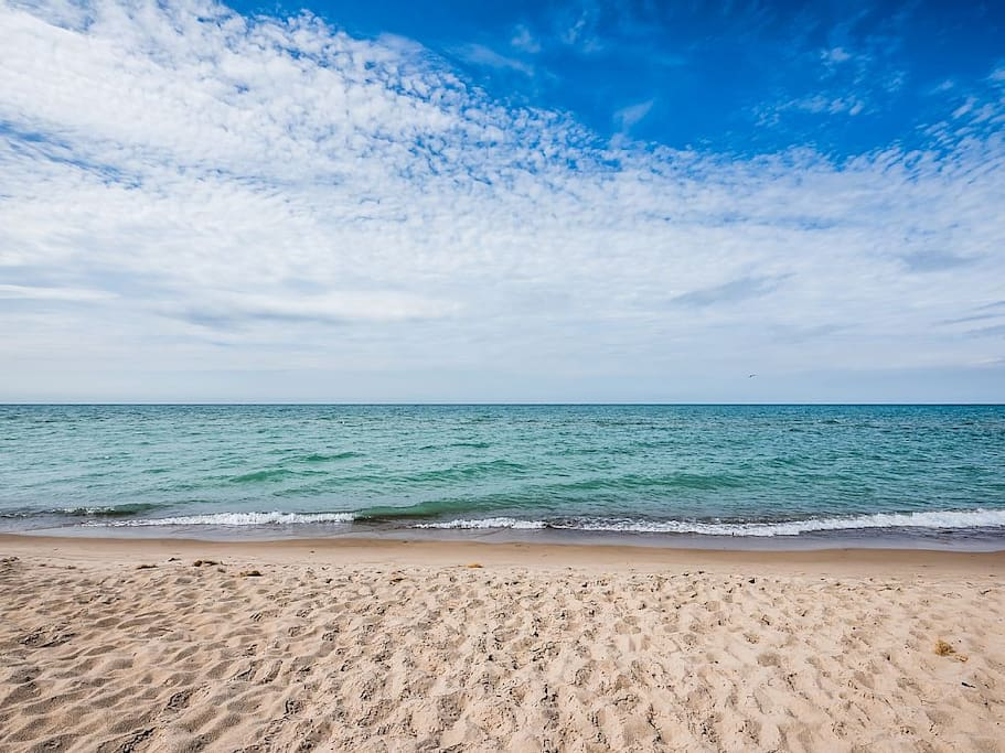 Two Lake Michigan Beaches to Pick From (One Private One Public)