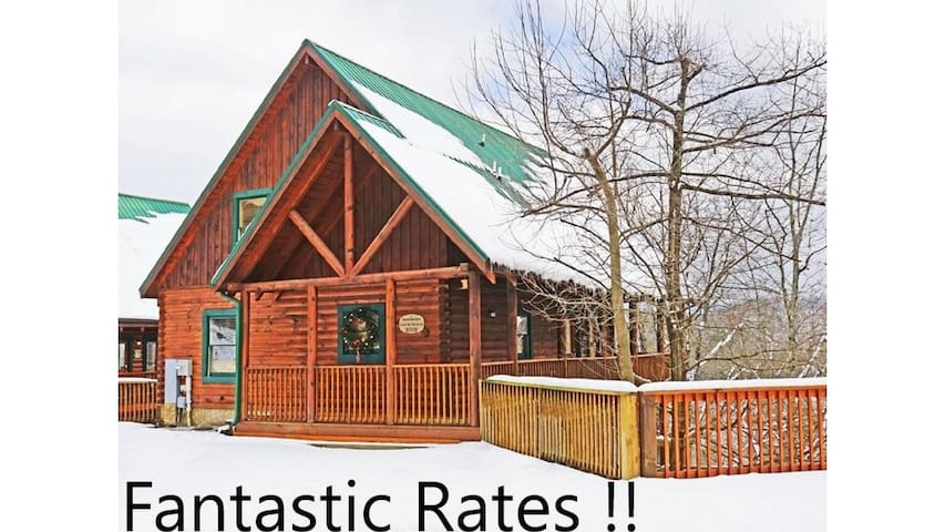 Livin' the Good Life-Low Winter Rates-Luxury Cabin
