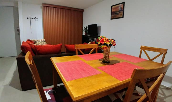 Apartamento Exclusivo, Muy Cerca del Aeropto CDMX.