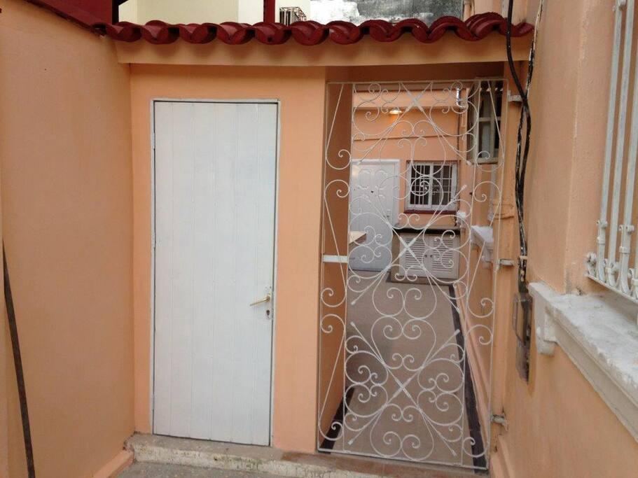 Independent entrance