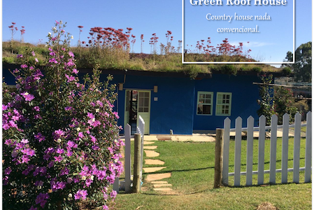 GREEN ROOF HOUSE with POOL - CASA ECOLOGICA - Casa