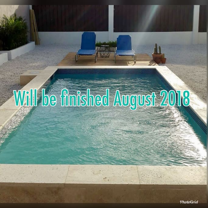 We are constructing a pool very similar to this one. In August we will take the first dip in the pool!