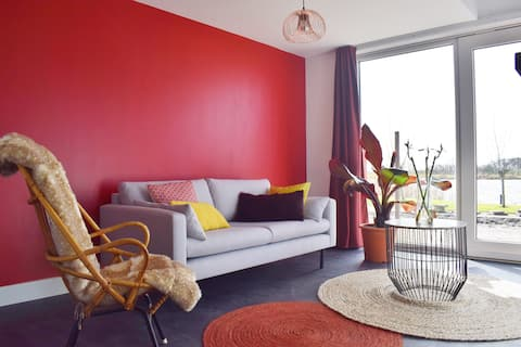 Apartment 3 at waterside 20 km from Amsterdam