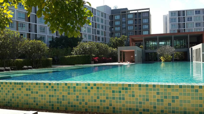 1BR+Sofabed fully furnished condo - T. Faham, A.muang - Lägenhet