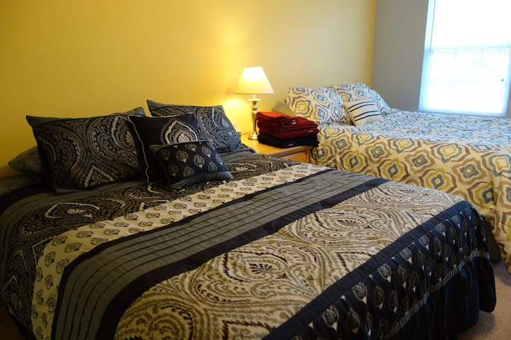 SPACIOUS! 2 Queen Beds, Private Bath, Parking/WIFI - Clinton - Dom