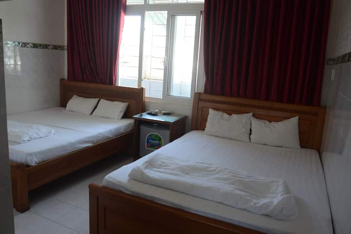 Quadruple room in Phan Rang Downtown