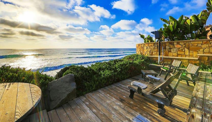 Amazing Single Family Oceanfront Home C1205-0