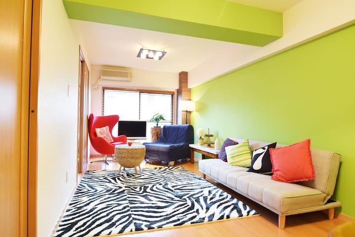 2BRS LUXURY 7BEDS /SHINAGAWA GINZA - Minato-ku - Apartment
