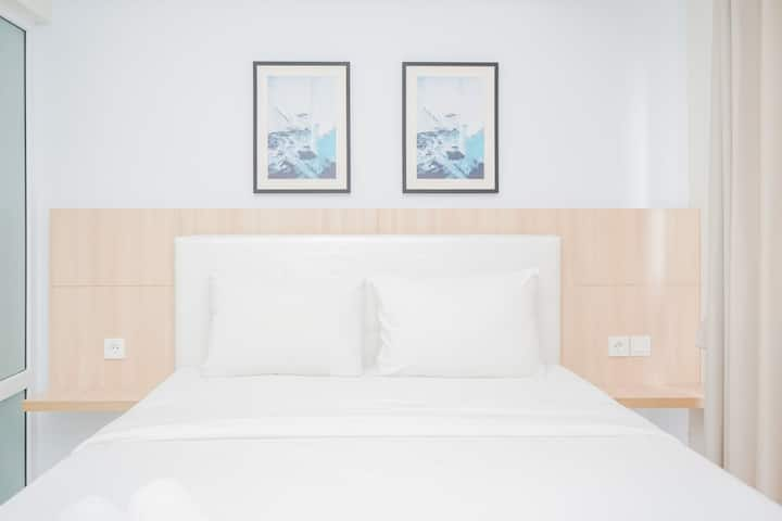 Clean and Tidy 1BR Bintaro Plaza Residence Apt