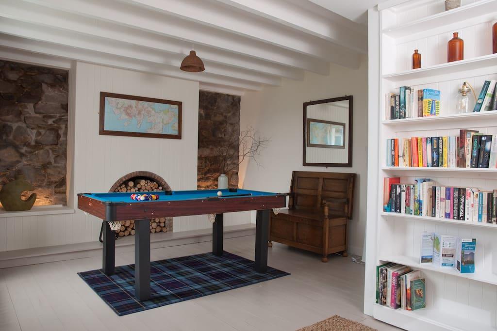 Pool or Table Tennis