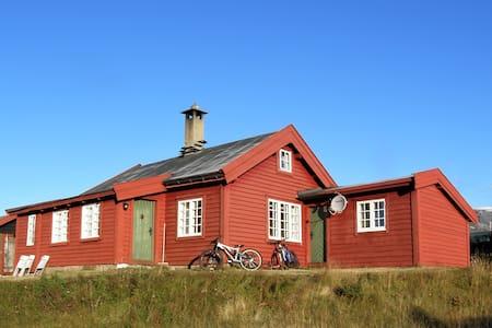 200 year old log cabin - near Ustaoset station