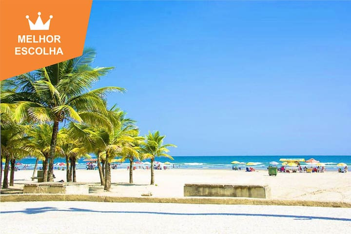 Lindo Apto 2 qts Vila Tupy, Praia Grande - SP