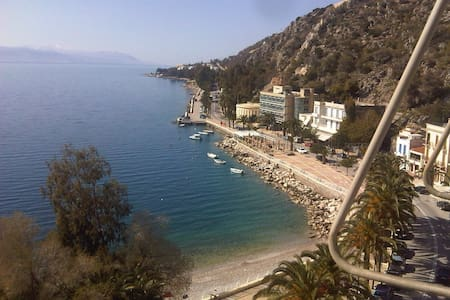 Beautiful seafront apartment - Loutraki