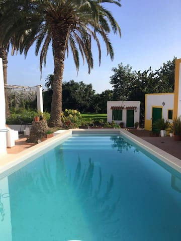 country house with pool and garden - Arucas - Ev