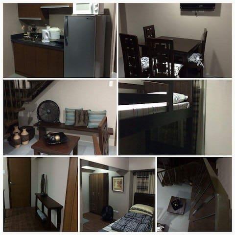3-BR Loft-Style Bedroom