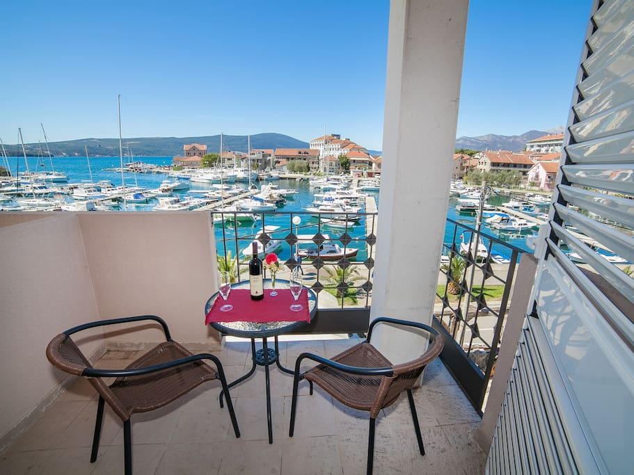 Balcony with amazing sea view