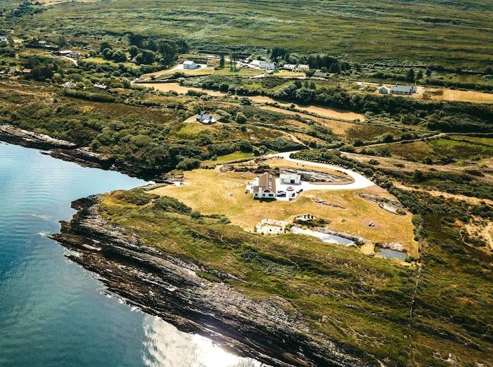 Amazing villa on the Atlantic Ocean, stunning view