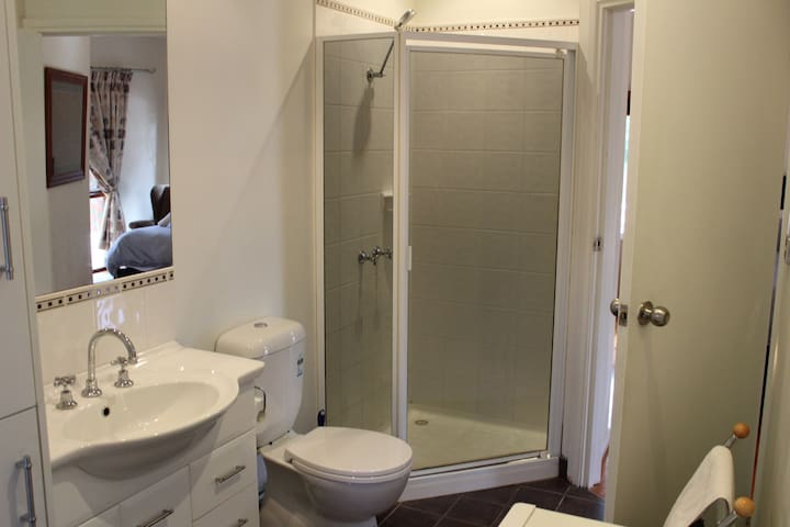 Brushy Bathroom