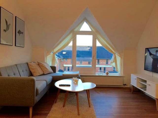 Quality in city centre w/ parking - Odense - Apartemen