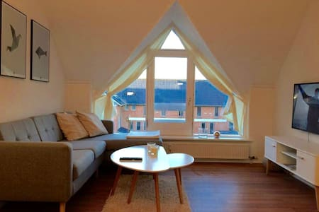 Quality in city centre w/ parking - Odense - Daire