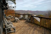 Large Deck for Viewing Stars.