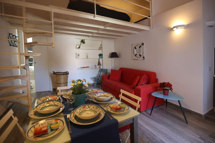 Sorrento large and beautiful Loft, nearby the sea - Sant'Agnello - Lakás