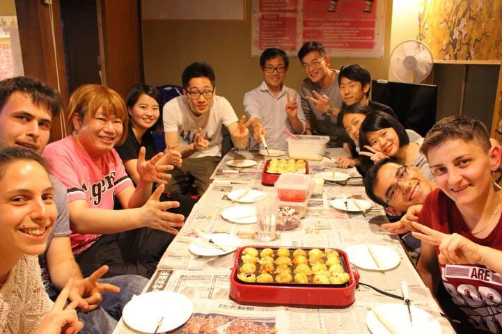 ☆【大阪駅から徒歩13分】大阪ゲストハウス桜 18名男女混合MIXドミトリー