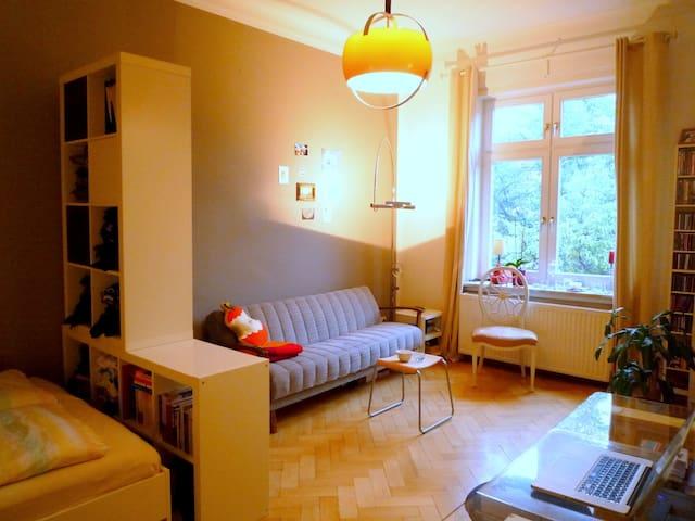 *Charmant & gemütlich* 1-Zi-Whg am Rotkreuzplatz - Múnich - Apto. en complejo residencial
