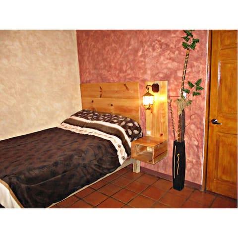 RECAMARA 1: -en planta alta - 1 cama matrimonial.
