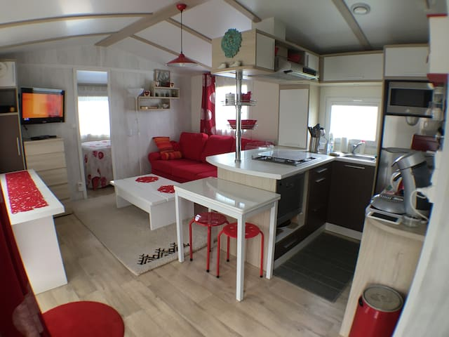 Mobilhome confort 4 personnes