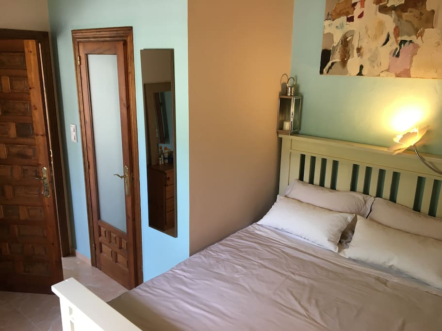 Rental bedroom with ensuite