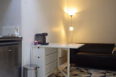Studio calme et atypique en mezzanine - Clichy