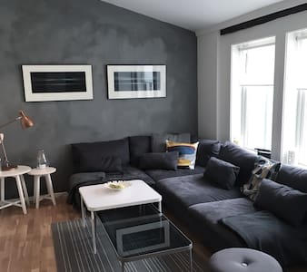 Charming downtown apartment 53 m2 - Trondheim - Wohnung