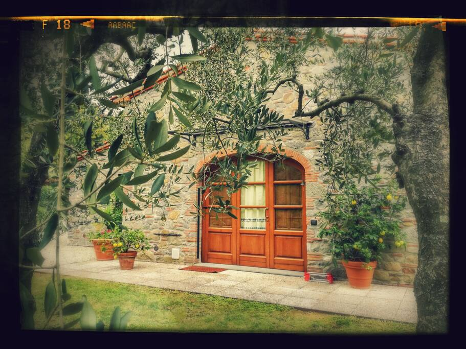 Porta d'ingresso/Entrance door