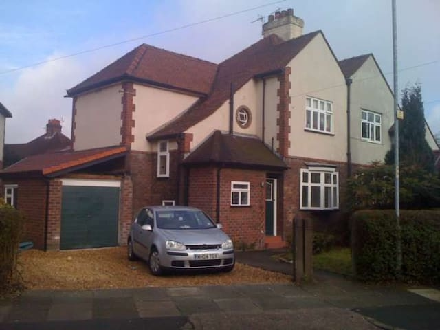 Beautiful 3 bed in leafy Manchester.