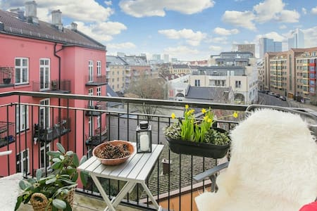Amazing roof terrace - Oslo - Apartment